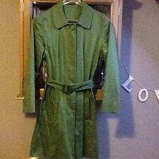 Dorothy Perkins green trench coat UK 10