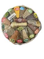 VEZIRHAN Spice Variety Gift Basket 17 Spices With Grinder Made In Turkey