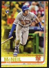 2019 Topps Series 1 Walgreens Yellow Parallel Jeff McNeil RC #281 Mets Rookie