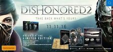 Dishonored 2 Limited Edition PS4 *NEW*+Warranty!!