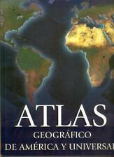 Atlas Geografico De America Y Universal