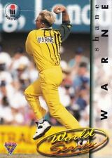 Shane Warne Australia National Cricket Trading Cards