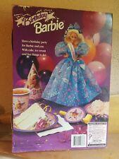 Birthday Barbie Doll Mattel Vintage 1993 NIB
