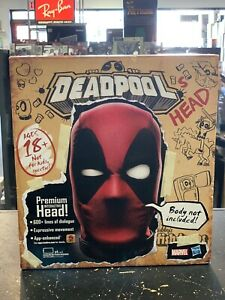 Marvel Legends Interactive Electronic Deadpool's Head by Hasbro