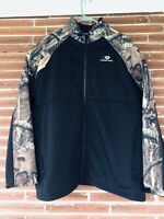 Mossy Oak Mens Breakup Infinity Full Zip Jacket Size XL EUC Hunting