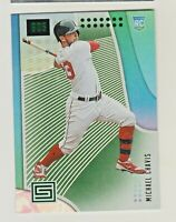 2019 Panini Chronicles STATUS GREEN #31 MICHAEL CHAVIS RC Rookie Boston Red Sox