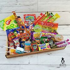 MEDIUM Sour Sweet/ Candy Mix Hamper Selection Letterbox Gift. Present, treats