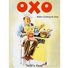 OXO Cucinare Chef Cibo e DRINK CAFFè CUCINA Classico Retrò Gadget Calamita frigo