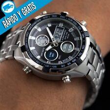 Reloj Hombre Digital Deportivo Militar de Caballero Relojes Hombres Esfera Negro