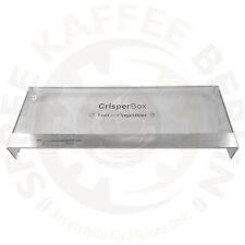 Bosch / Siemens Blende Abdeckung für Gemüsefach CrisperBox Kühlschrank 00706617