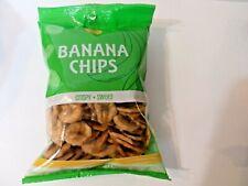 Premium Anana Chips  Banana Chips Crispy And Sweet  6 oz ( 2 packs)