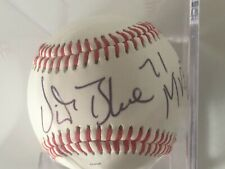 VIDA Blue 71 MVP hand signed autographed baseball in case with numbered halogram