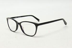 Warby Parker Daisy 100 Mujer Gafas Monturas Solo Negro Elegante Gafas