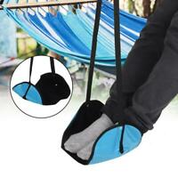 Portable Foot Travel Rest Relax Footrest Hammock Carry Flight Leg Airplane Pad