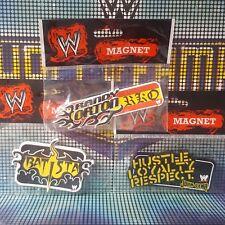 3 x Official WWE Fridge Magnets - Orton, Batista and Cena Xmas Stocking Filler