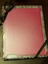 IPad 3 cover, rhinestone hard shell case, hot pink, Glitz and sparkle, shiny NIB