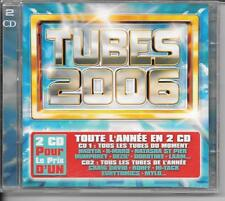 2 CD COMPIL 40 TITRES--TUBES 2006--K-MARO/NADYIA/ST PIER/DEZIL/MYLO/ROHFF