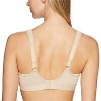Champion Women's Spot Comfort Full Support Sports Bra, Nude,, Nude, Size 36DD fx