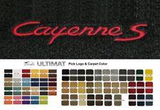Lloyd Mats Porsche Cayenne S Custom Cayenne S Front Floor Mats (2003 & Up)