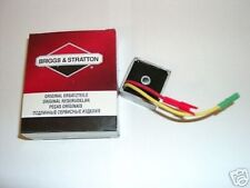 Genuino Briggs y Stratton 12 794360 regulador de voltaje
