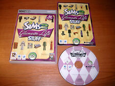 La vita di The Sims 2 GLAMOUR ROBA Apple Mac add-on Pack v.g.c. Post veloce