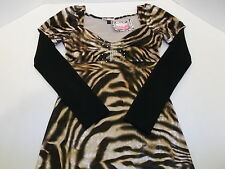 GIOIA FASHION MINI DRESS TIGER PRINT WOMEN'S S NWT CUTE!!!