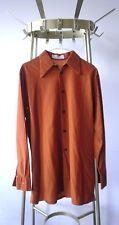 VEB jersey Costumi DDR camicie da uomo MAGLIETTA True Vintage GDR Marrone Sintetico Mis. 37