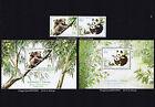 1995 Australia & China joint issue set 2x mini-sheets +se-tennant pair MNH koala