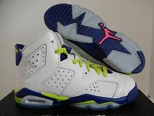 NIKE AIR JORDAN 6 RETRO GG SEATTLE SEAHAWKS SZ 4.5Y-WOMENS SZ 6 [543390-108]