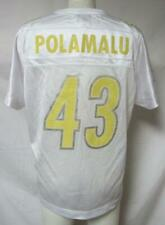 Pittsburgh Steelers Womens Size Large Troy Polamalu #43 Glitter Jersey A1 2254