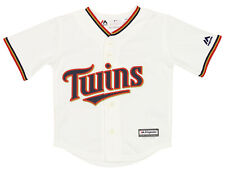 Majestic MLB Baseball Toddlers Minnesota Twins Home Jersey, White