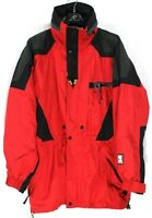 HELLY HANSEN Men's Jacket Size M HellyTech Waterproof Red s3654