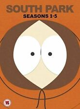 South Park Seasons 1-5 - DVD Region 2