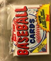 1988 Topps Baseball Card Jumbo Cello Pack 37 Cards Rob Ducey Blue Jays Showing