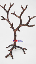 Solid Metal Jewelry Tree Display Stand / Decor Piece