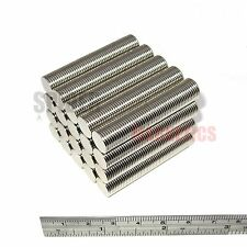 1000 Magnets 10x1 mm Neodymium Disc strong round craft magnet 10mm dia x 1mm