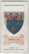 Versailles France Coat Of Arms French Louis XIV 100+ Y/O  Ad Trade Card