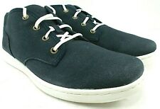 Timberland Mens EK Newmarket Cupsole Chukka Blue Canvas Suede Boots Size 9 M