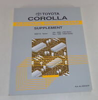Workshop Manual Toyota Corolla Electrical Wiring Diagram Supplement Stand 1999