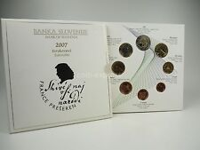 *** EURO KMS SLOWENIEN 2007 BU Kursmünzensatz Slovenia Slovenije Coin-Set ***