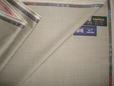 """DORMEUIL SUPER 120's tela de la adaptación de lana """"Cortina del verde Laurel"""" """"TECNIK"""" – 3,4 m."""