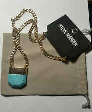 Steve Madden Turquoise Necklace NWT