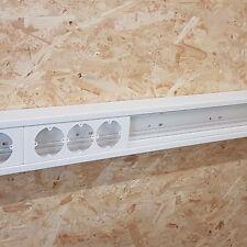 2 Meter Brüstungskanal 110x70mm reinweiß mit Schutzfolie