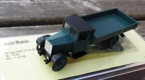 Krupp LKW L5 N 62 - Kipper grün - von Saller 1:87