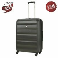 "Aerolite 25"" Lightweight Hard Shell Suitcase 4 Wheel Hold Check In Luggage Bag"