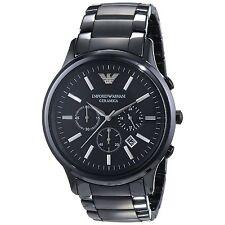 Emporio Armani Men's Ceramic Case Wristwatches