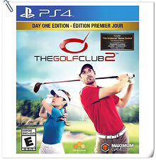 PS4 The Golf Club 2 SONY PLAYSTATION Maximum Family Sports Games