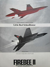 5/1972 PUB TELEDYNE RYAN AERONAUTICAL BQM-34E/F FIREBEE II TARGET MIG-23 AD