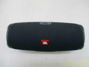 JBL Charge 4 Portable Bluetooth Speaker Black (very good condition) From Japan