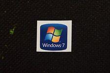 NEW! Windows 7 Sticker 18mm x 18mm Labe lGenuine Case Badge Sticker. USA Seller!